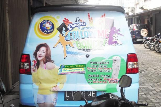 Jasa Sticker Mobil Jogja