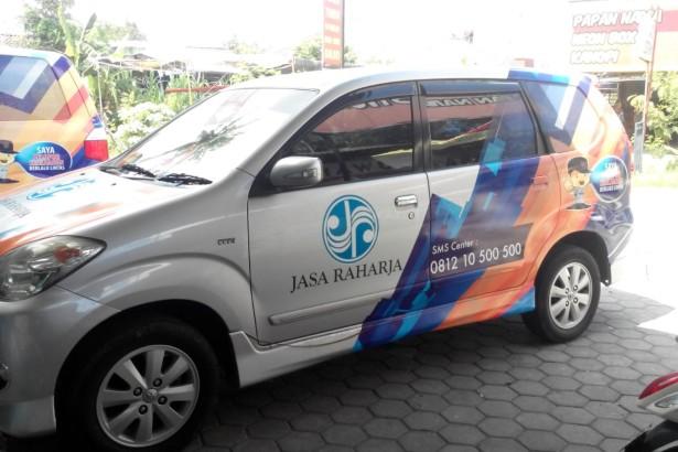 Sticker Mobil Instansi Pemerintah
