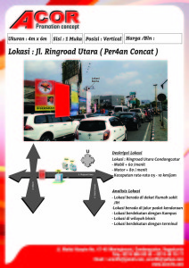 04 JL. RINGROAD UTARA ( PER4AN CONCAT )