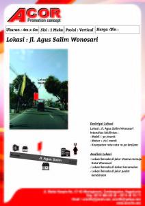 15 JL. AGUS SALIM WONOSARI