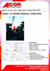 20. JL. SELOAKAN MATARAM, OUTLET BIRU